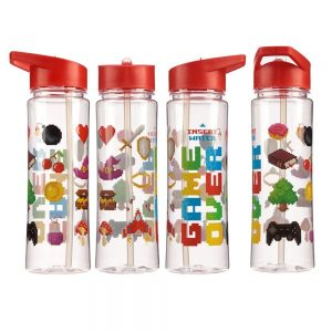 Water Bottle 500ml Game Over