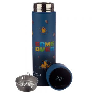 Game Over Stainless Steel Hot & Cold Drinks Bottle