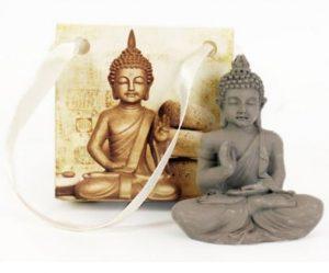 Buddha Ornament In A Bag 5 x 5.5 x 2.5cm