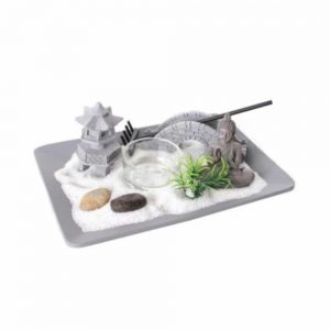 18x13cm Zen Garden Candle Holder