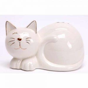20x14cm Laying Cat Ornament