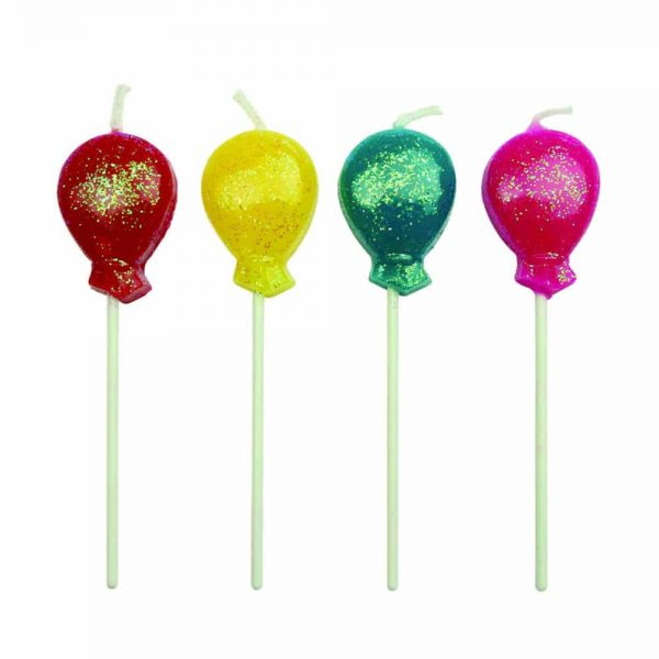 Balloon Candles Set of 8