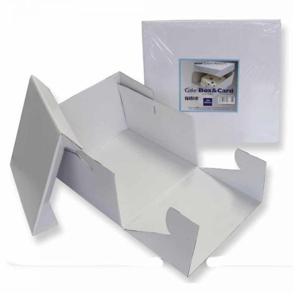 PME 18in White Cake Box