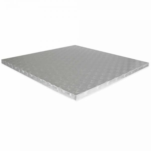 Square Cake Board Width 381mm Height 12mm