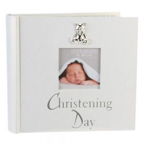 Christening Pearlised Photo Album 4x6