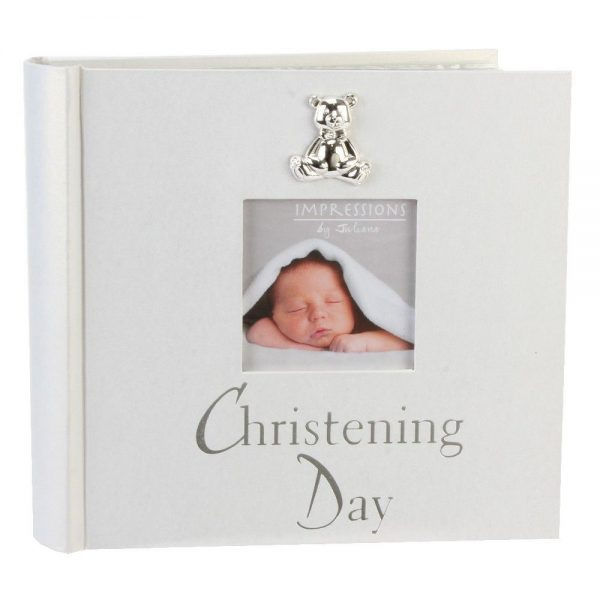 Christening Pearlised Photo Album 4x6