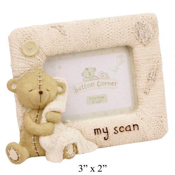 Button Corner Frame My Scan 3X2inch