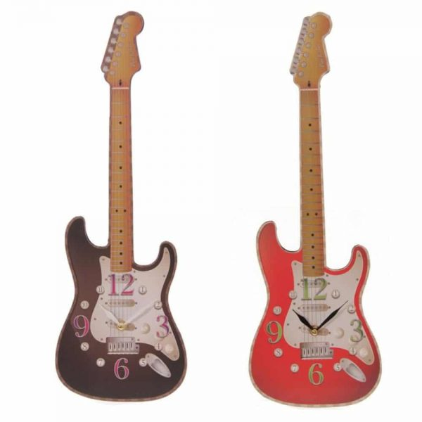 Ted Smith Guitar Shaped Picture Clock