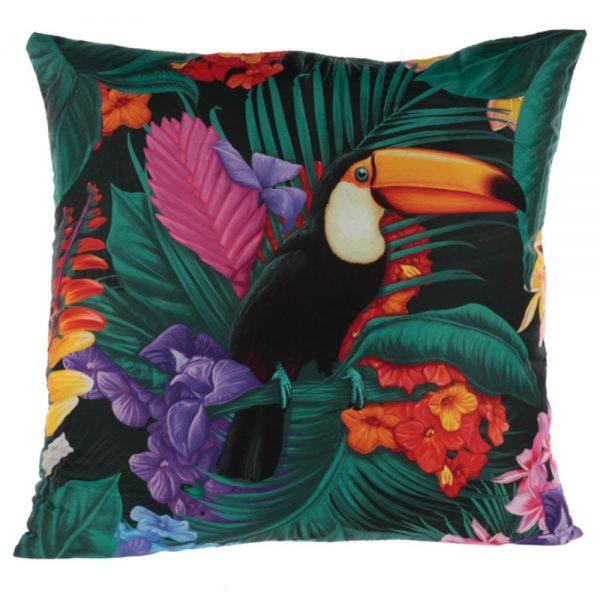 Toucan Party Cushion 50x50cm