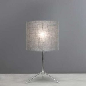 Harby Table Lamp Grey