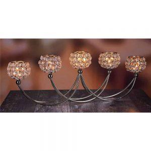 Grange Crystal 5 Tea light holder