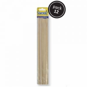 Bamboo Dowel Rods 12 Pack