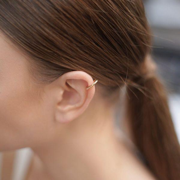 Single Plain Ear Cuff