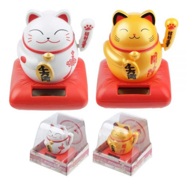 Waving Cat Solar Pal