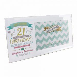 21st Birthday Frame