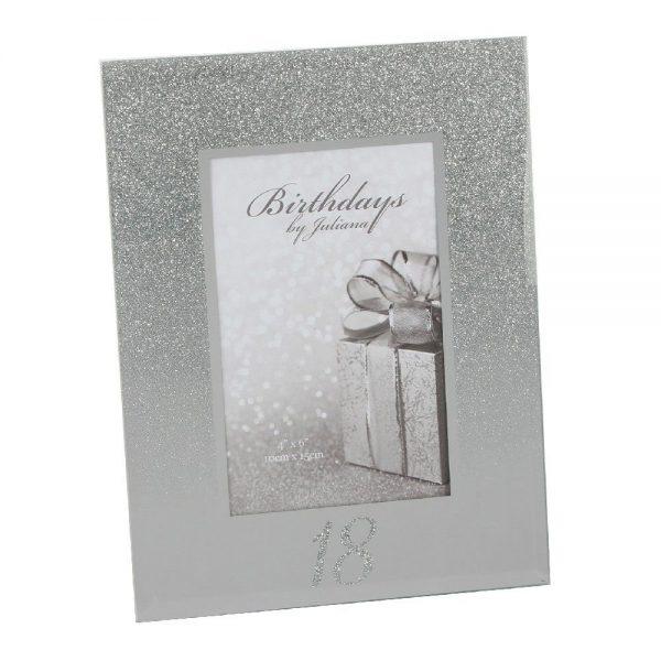 Glitter Mirror Frame - 18th Birthday