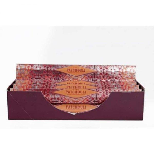 Pack of 20 Patchouli Incense Sticks
