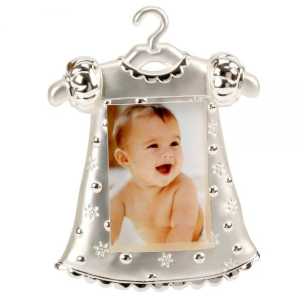Silver Plated 2x3 Girl Dress Frame