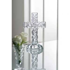 Galway Crystal Celtic 10 inch Cross