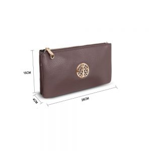 Gessy Cross Body Bag In Taupe