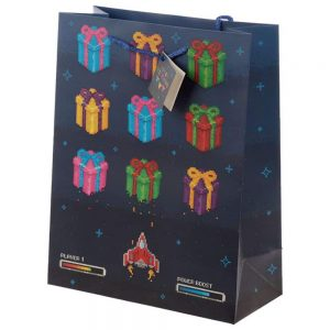 Game Over Happy Birthday Gift Bag Large