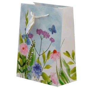 Botanical Garden Gift Bag Medium H23 W17 D9cm