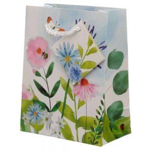 Botanical Garden Gift Bag Small H14cm W11cm D6.5cm
