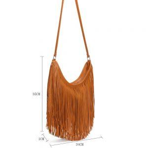 Gessy Handbag in Brown
