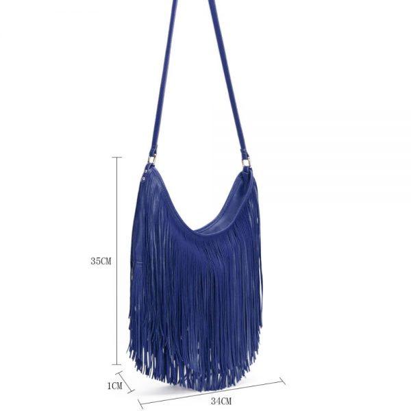 Gessy Navy Handbag
