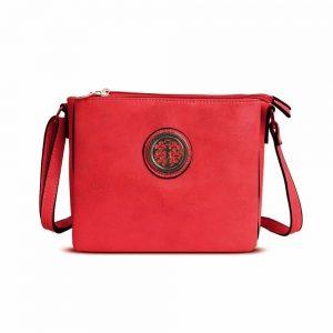 Gessy Cross Body Bag in Red