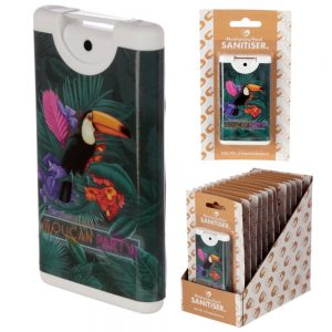 Spray Hand Sanitisers Toucan Party