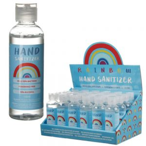 Rainbow Hand Sanitiser Gel 100ml Bottle