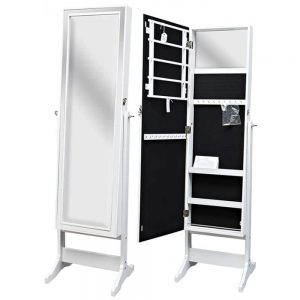 Jewellery Cabinet White