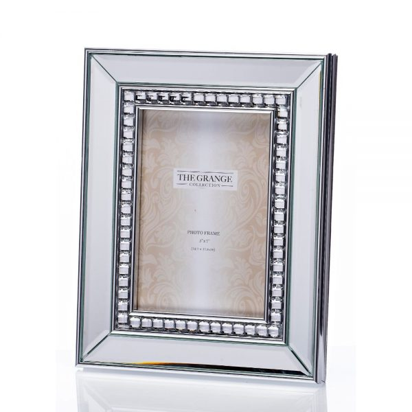 Blossom Mirrored Frame 5x7in