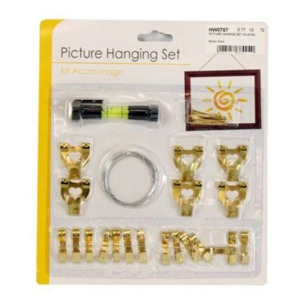 Picture Hanging Set with Level