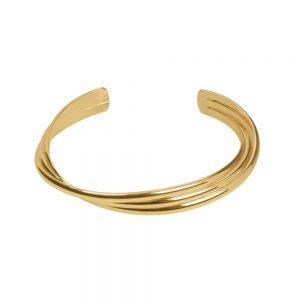 Interwoven Rose Gold Cuff