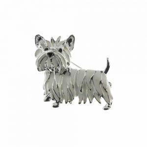 Puppy Brooch
