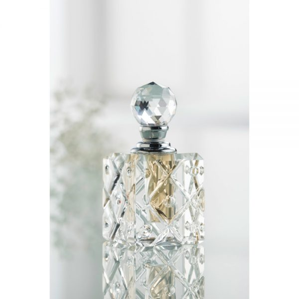Galway Crystal Mini Square Perfume Bottle