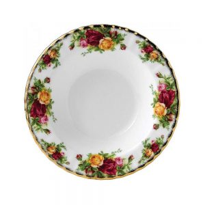 Old Country Roses Small Rim Soup Bowl 21cm
