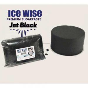 Ice Wise Black Premium Sugarpaste Icing 500G