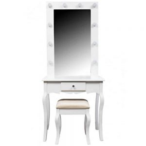Hollywood Dressing Table 75x40x176cm