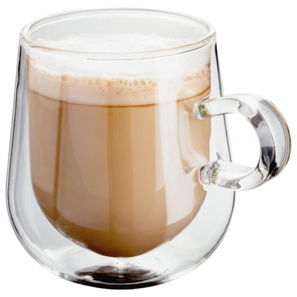 Judge Double Wall Set of 2 Latte Glass 275ml
