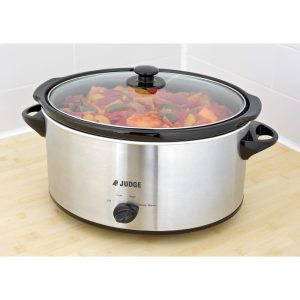 Judge Electrical Slow Cooker 5.5 Litre