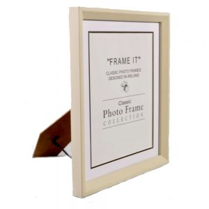 4X6 Slim Cream Frame