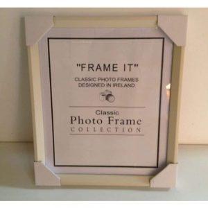 8X10 Slim Cream Frame