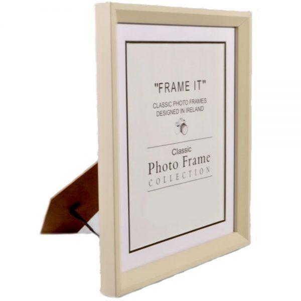 A4 Slim Cream Frame