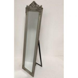 Pewter Cheval Mirror