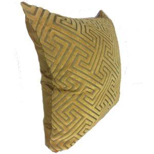 Yellow Geometrics Cushion Cover 44x44cm