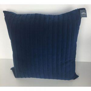 Navy Ribbed Cushion Cover 44x44cm
