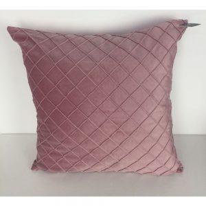 Pink Diamond Cushion Cover 44x44cm